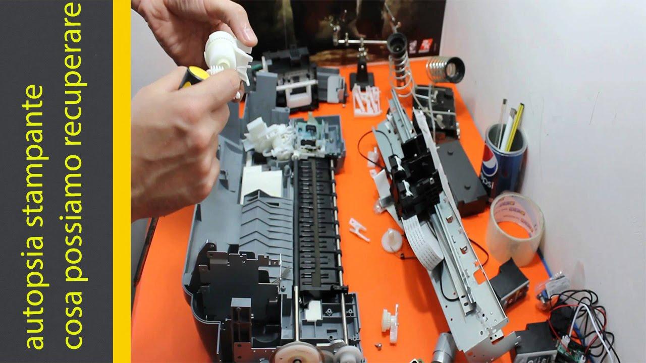 Riutilizzare stampante rotta