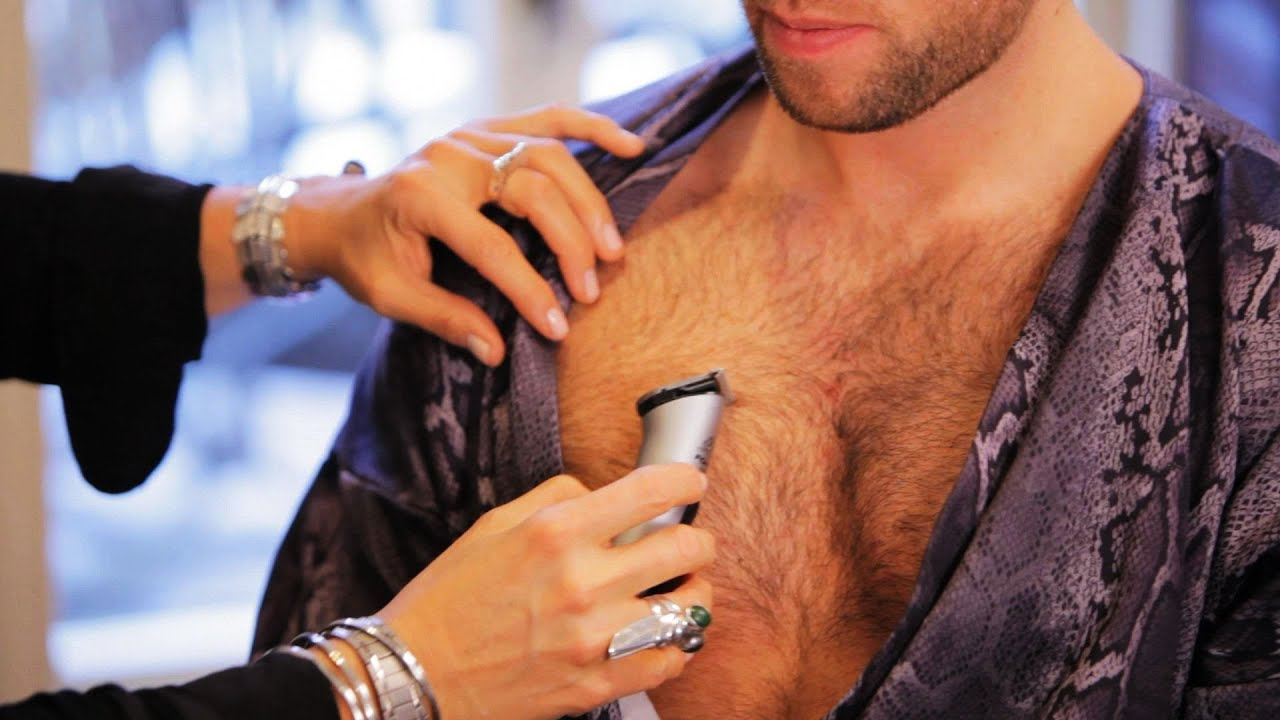 Image result for men breast hair
