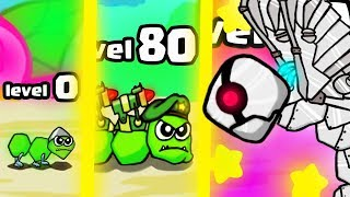 HOW STRONG IS THE  HIGHEST LEVEL INSECT EVOLUTION? (9999+ BOSS ANT ARMY) l Battlepillars New Game