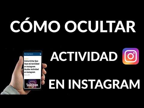 Cómo Evitar Que Vean mi Actividad en Instagram