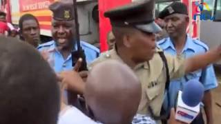 Likoni ferry tragedy: Police clash with journalists at the crossing