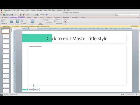 How To Edit Footer on PowerPoint