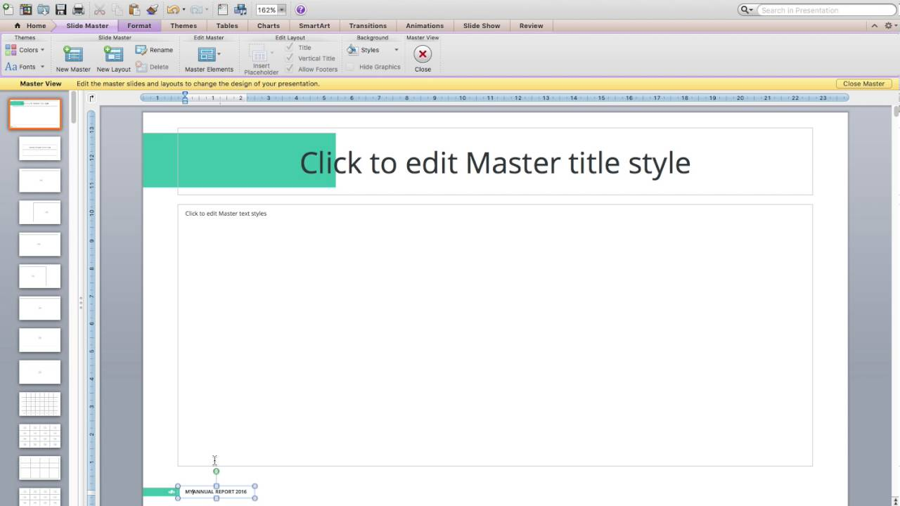 How to edit footer on powerpoint youtube how to edit footer on powerpoint toneelgroepblik Gallery