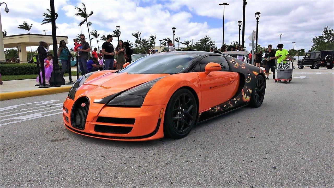 Bugatti Veyron Lamborghini Aventador Sv Mclaren P1 Drive By At