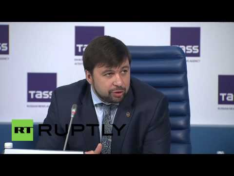 Russia: LPR/DPR residents could soon request Russian passports - DPR's Pushilin