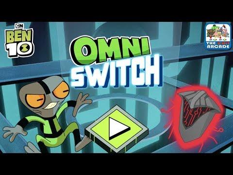 Ben 10 Omnitrix Glitch: Omni Switch - Hack Before The Enemies Attack (Cartoon Network Games)