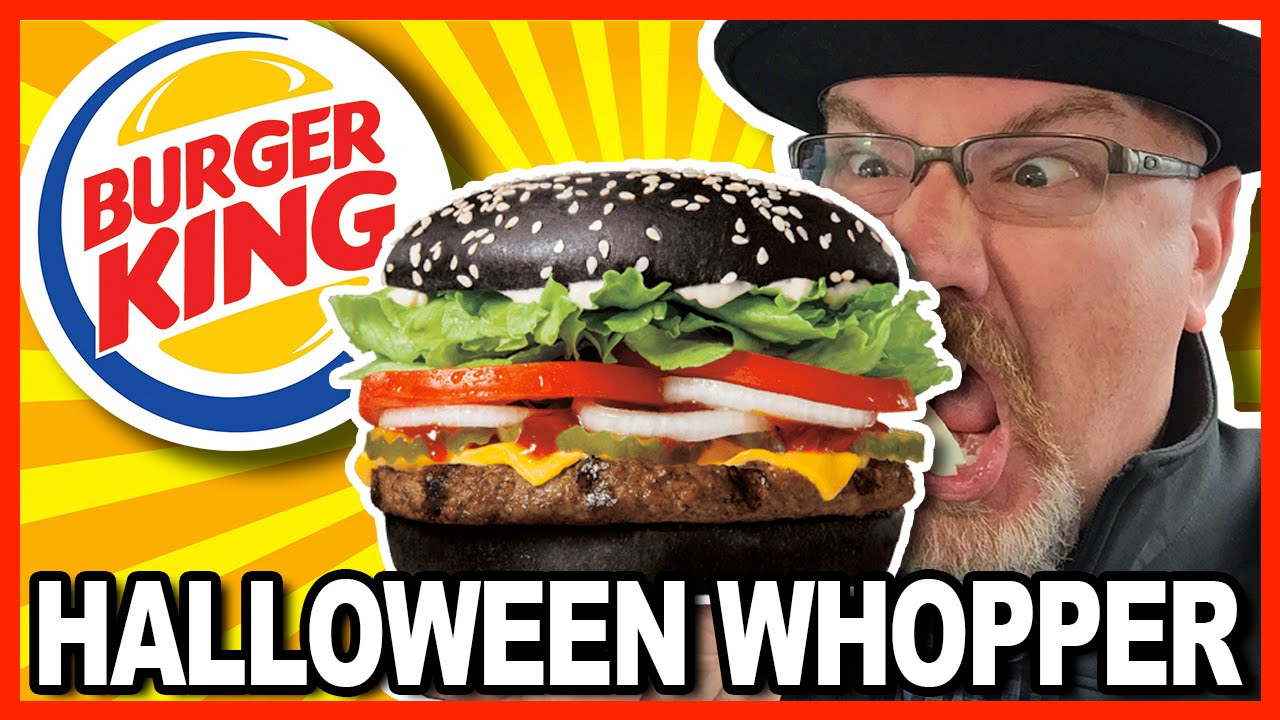 Burger King A1 Halloween Whopper