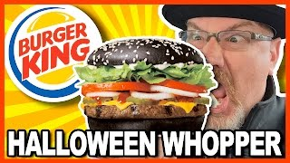 Burger King ★ A1 Halloween Whopper ★ Review From Niagara Falls New York