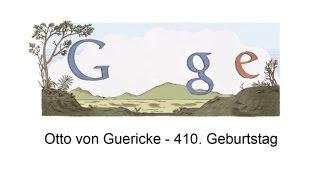 Otto von Guericke: Google Doodle mit Animation