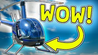 MY OWN HELICOPTER?! #3-English Roblox: TreeLands Beta