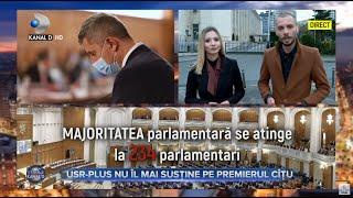 Stirile Kanal D (14.04.2021) - USR-PLUS nu il mai sustine pe premierul Citu | Editie de seara