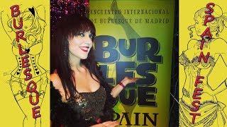 Primer Encuentro Internacional de Burlesque en Madrid