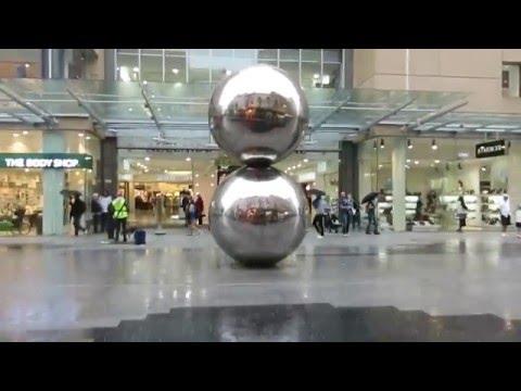 Heavy Rain in Rundle Mall, Adelaide 2016