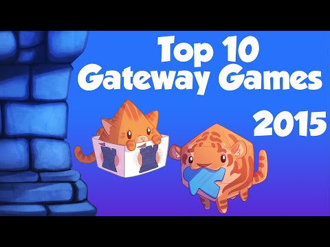 Top 10 Gateway Games for New Gamers