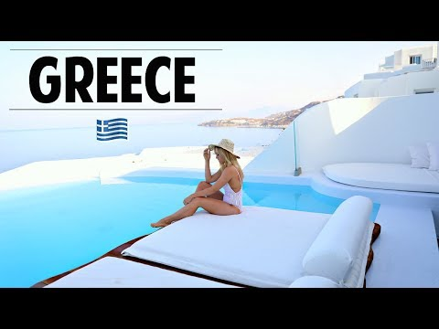 Traveling To Greece + EPIC Hotel Room Tour! | Ashley Nichole