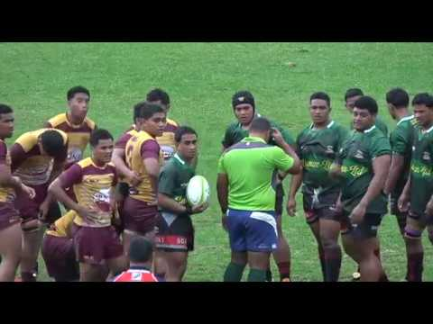 Tonga High School vs Takuilau College -  Rugby Union Senior Grade