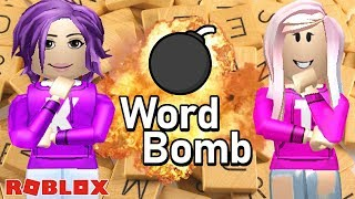THIS GAME WILL MAKE YOU PANIC! / Roblox: Word Bomb 💣