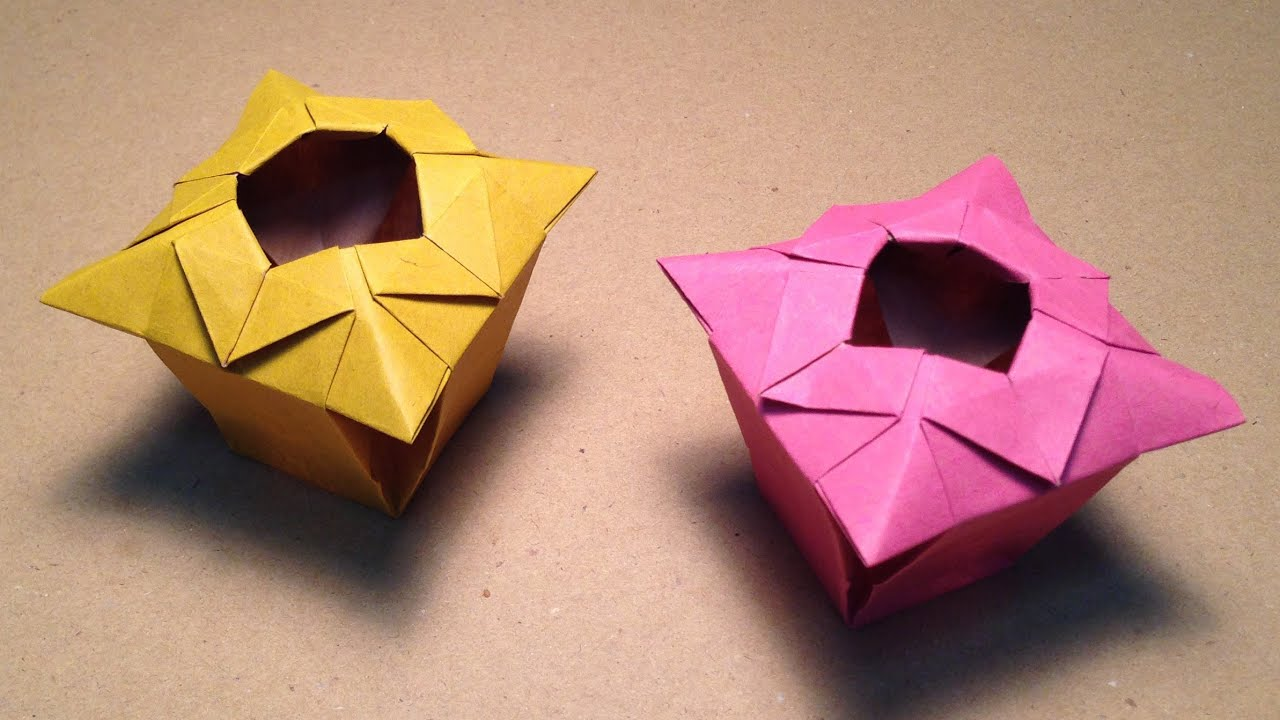 Origami vase instructions youtube reviewsmspy