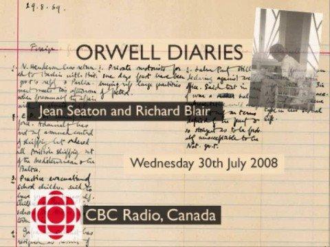 Orwell Diaries: CBC Radio Interview