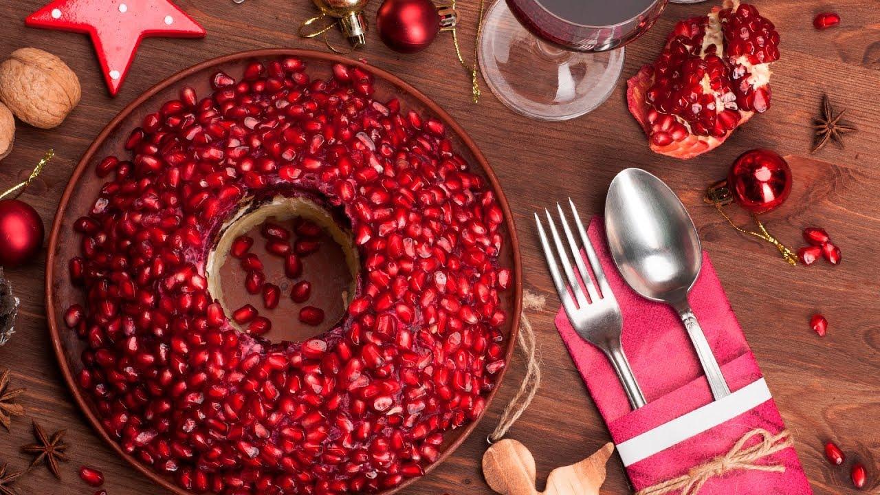4 салата на праздничный стол. Рецепты от Всегда Вкусно!