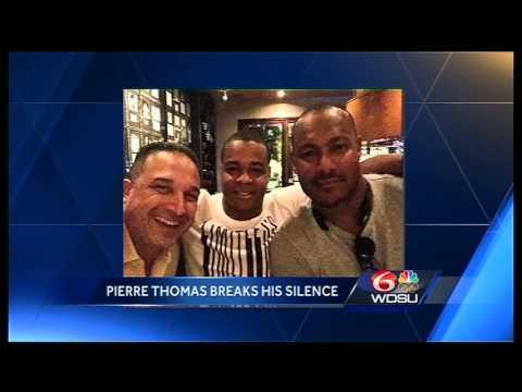 Pierre Thomas breaks silence on Smith shooting: