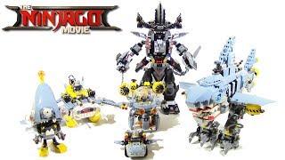 All Lego Ninjago Movie Shark Army Mechs
