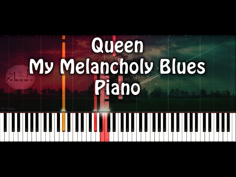 Queen - My Melancholy Blues Piano Cover
