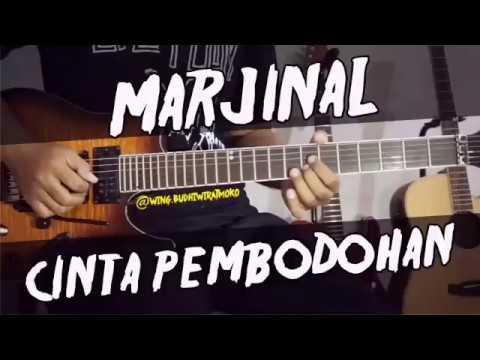 MARJINAL - Cinta Pembodohan guitar cover gitar chord lirik kunci tutorial lesson #marjinal