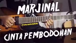 Download lagu MARJINAL Cinta Pembodohan guitar cover gitar chord lirik kunci tutorial lesson marjinal MP3