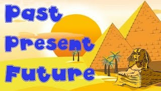 Indefinite Pronouns; Verbs: Past, Present, and Future Tense - English Grammar Lesson for Children