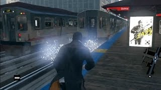 Watch Dogs - Free Roam Gameplay PS3 (Man Vs. Train, Police Chases, Costumes, Boat, & MORE!!)