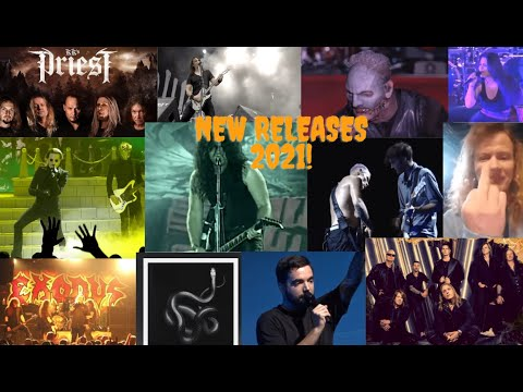 Most Anticipated New Metal/Rock Album Releases of 2021!