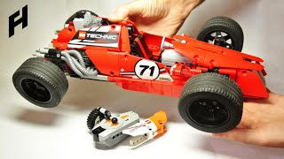 How to build the Vintage Formula One (Lego Technic)