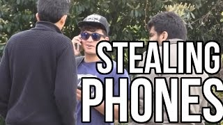 STEALING PEOPLES PHONE PRANK ( GONE WRONG ) | IN CANTERBURY