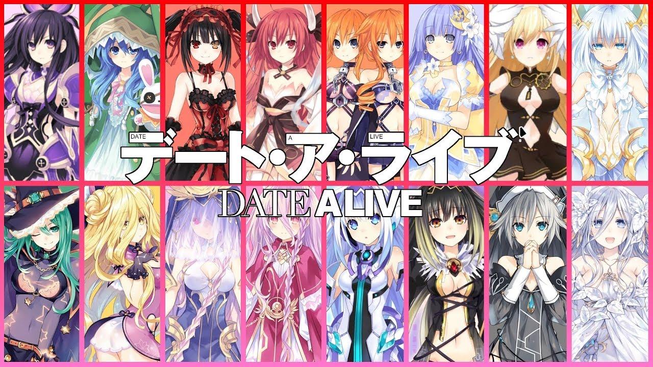 Kết quả hình ảnh cho Date A Live anime