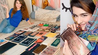 MY EYESHADOW PALLETE COLLECTION WITH SILPA AUNTY| AVNEET KAUR| 2020| MAKEUP