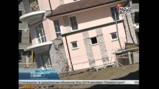 Покосившийся дом в Сочи был построен без согласования