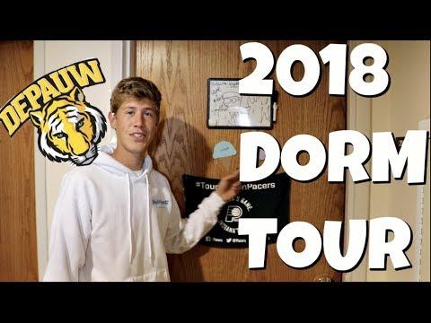 Dorm Tour (DePauw University) + College Q&A