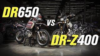 Suzuki DR650 vs DR-Z400