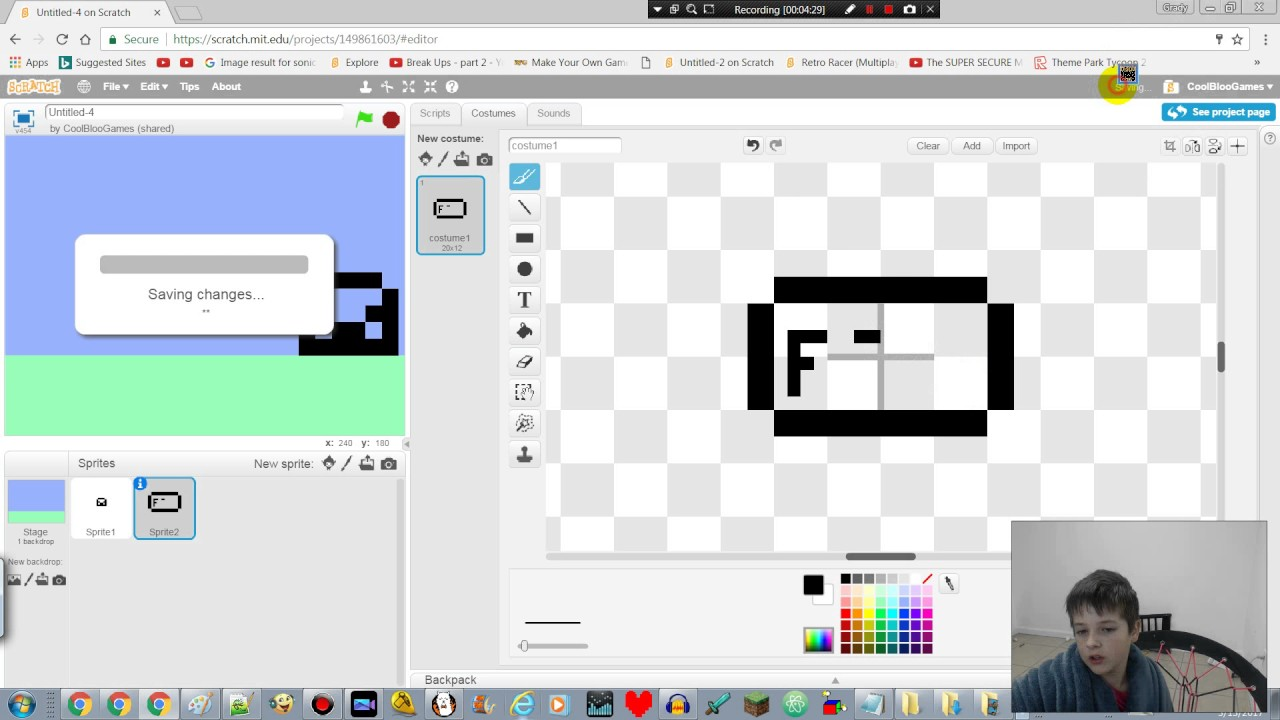 How To Make A Virtual Pet In Scratch Part1 Graphics
