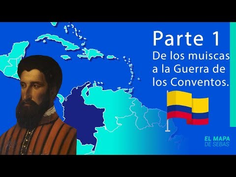 🇨🇴🇨🇴HISTORIA De COLOMBIA En 16 MINUTOS🇨🇴🇨🇴[1º Parte]