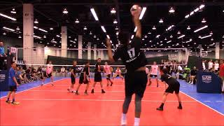 2018 AAU Anaheim Slainte Platinum vs Pulse set 2
