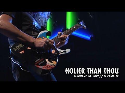 Metallica: Holier Than Thou (El Paso, TX - February 28, 2019)