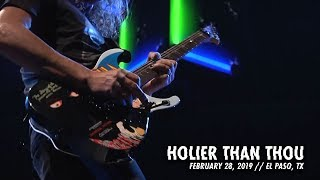 Metallica: Holier Than Thou (El Paso, TX - February 28, 2019) YouTube Videos