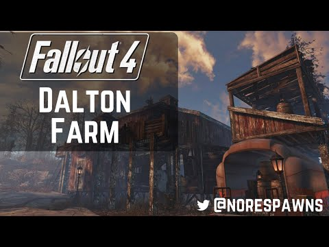 Fallout 4 Far Harbor - Building Dalton Farm