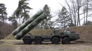 Расчеты С-400 ПВО Балтийского флота отрабатывают нормативы в полевых условиях
