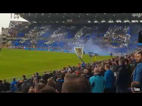 2017-2018 - Club Brugge-Racing Genk - Sfeer Voor de Match