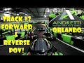Andretti Indoor Karting & Games Orlando Track #3 Forward & Reverse POV Fast Racing / EPIC CRASHES!