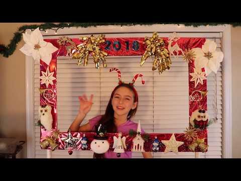 Christmas Photo Booth, DIY Christmas Photo Booth