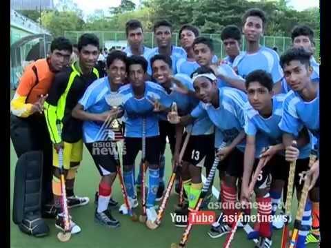 Wayanad Tribal school win the  Kerala School Hockey Championship